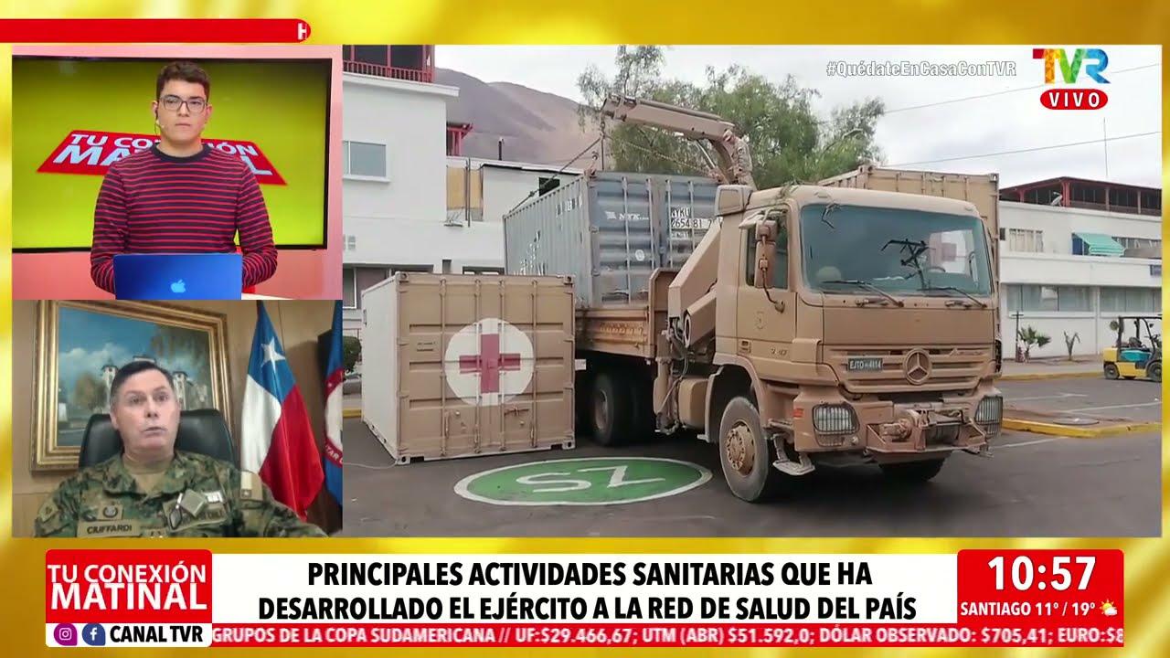 El General Director del Hospital Militar nos comenta la situación actual del Covid 19