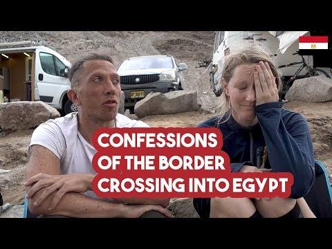 The Horrible Border Between Israel \u0026 Egypt /// VStrom Adventures #064