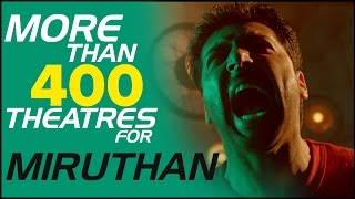 More Than 400 Theatres For Miruthan | Jeyam Ravi, Lakshmi Menon