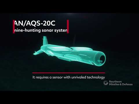 Discover the AN/AQS-20C sonar mine-hunting system