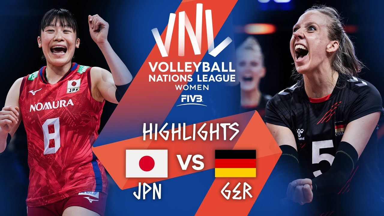 Download JPN vs. GER - Highlights Week 5   Women's VNL 2021
