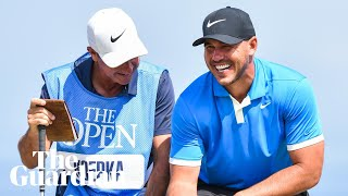 'There would be nothing cooler' than winning Open with Portrush caddie, says Brooks Koepka