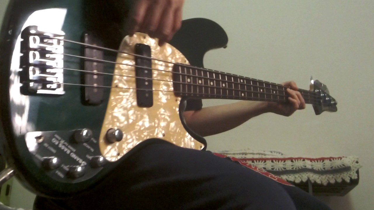 Ibanez TR600CG Expressionist Electric Bass Demo 1997 - YouTube