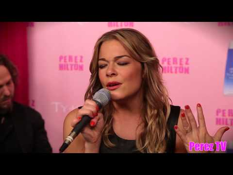 """Leann Rimes - """"Who We Really Are"""" (Acoustic Perez Hilton Performance)"""