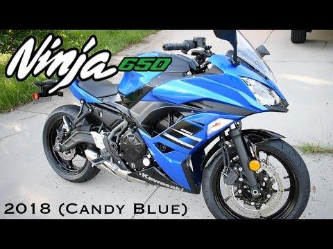 2018 Kawasaki Ninja 650 (BRAND NEW) - Motorcycle Garage Explosion!