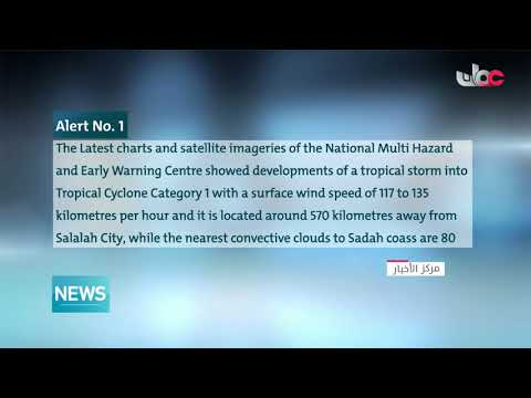 The tropical storm #Mekunu turned into a Category 1 Cyclone