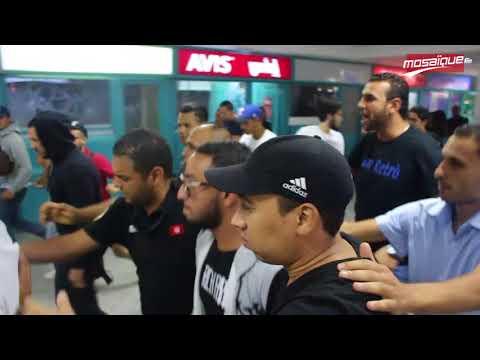 L'arrivée de LACRIM à l'aéroport Tunis Carthage