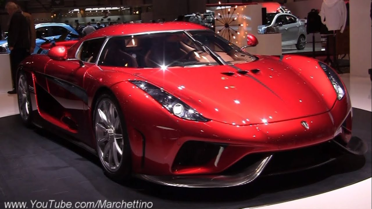 amazing koenigsegg regera and agera rs 2016 geneva youtube. Black Bedroom Furniture Sets. Home Design Ideas