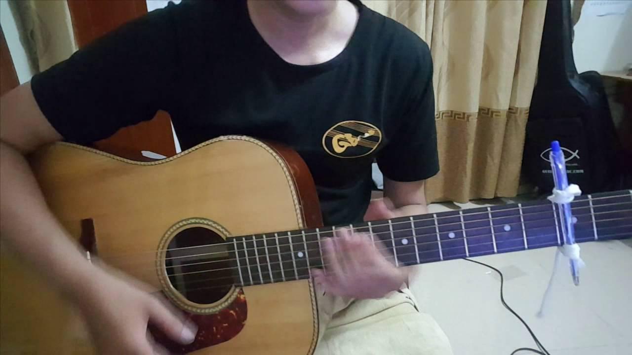 [Tự Học guitar đệm hát] Hướng dẫn Tuổi Hồng Thơ Ngây