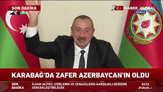 İlham Aliyev: Ne Oldu Paşinyan? Cebrail'e Yol Çekiyordun?..