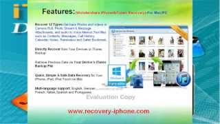 Video Recovery for iPhone-Recover deleted Video from iPhone 5/4s/4