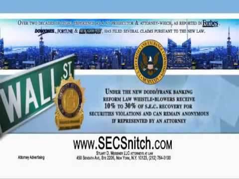 SECSnitch.com Commercial - Sponsored by the Law Offices of Stuart D. Meissner LLC
