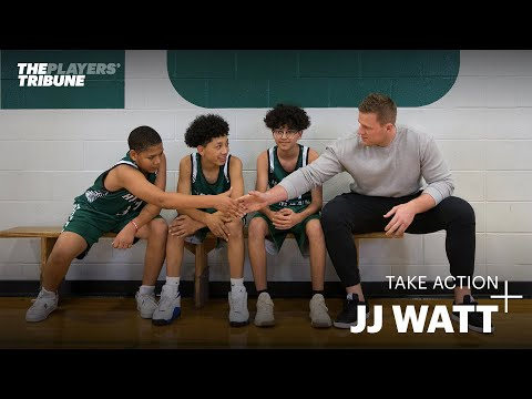 JJ Watt inspires middle school athletes around the country   Take Action