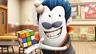 Spookiz  How To Solve A Rubikand39s Cube  스푸키즈  Kids Cartoons