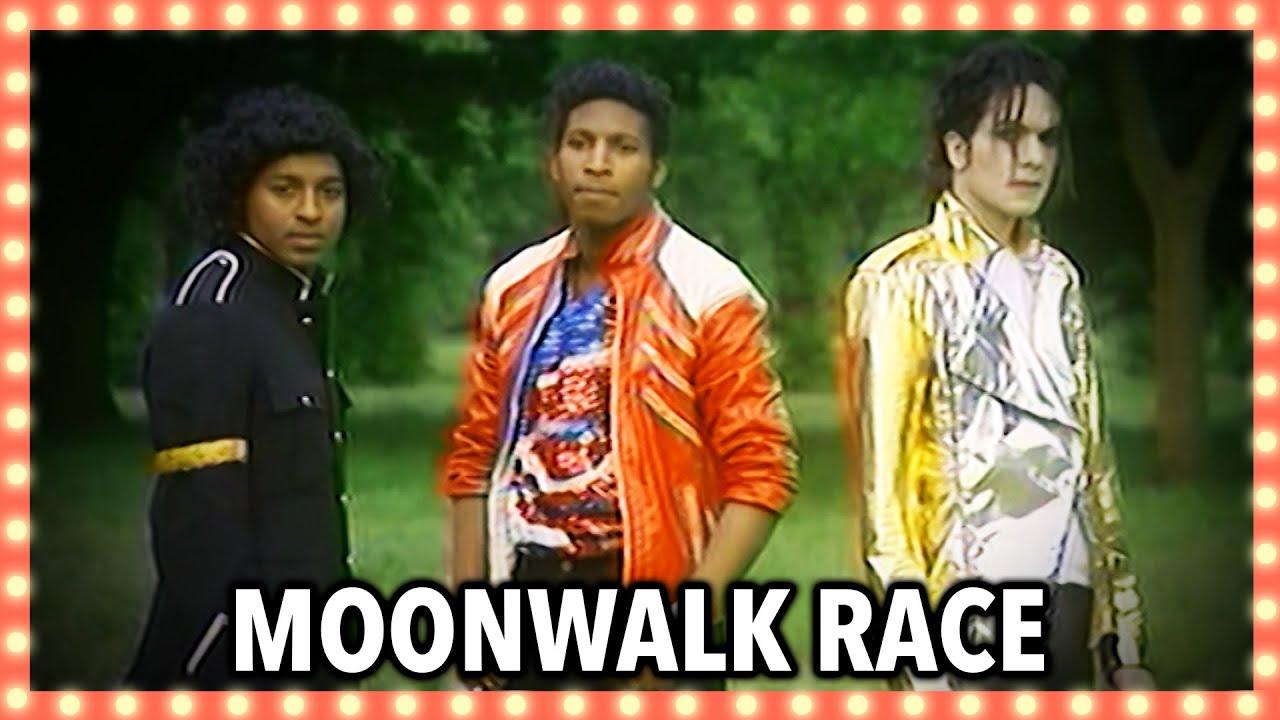 Michael Jackson Lookalike Moon Walk Race | Banzai!
