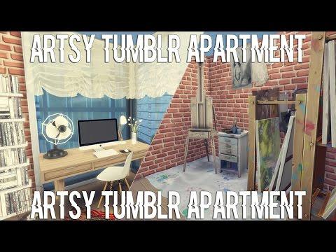 The Sims 4 Apartment Build Artsy Tumblr