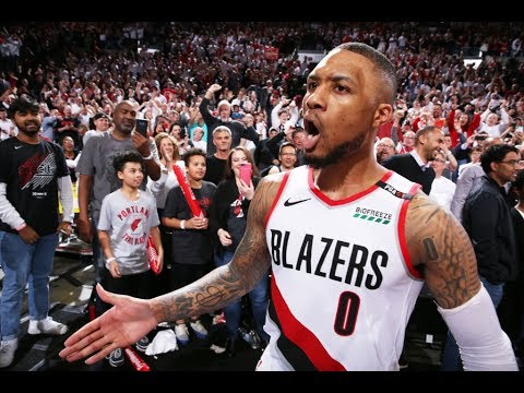 Every Angle of Damian Lillard's EPIC Game-Winner vs. OKC | Celebration, Postgame Interview