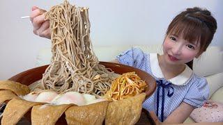 【大食い】富士そばのデカ盛り【もえあず】