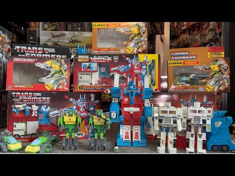 Transformers G1 Vintage Ultra Magnus & Springer Collection Variant Box Art by Toys Are Russ