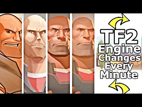 Team Fortress 2 But The Engine Changes Every Minute