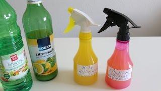 Reinigungsmittel selber herstellen 100 % Natural - Detergent itself produce 100% Natural
