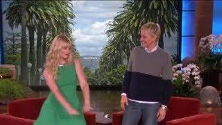 Beth Behrs Dances on 'Ellen'! on Ellen Show