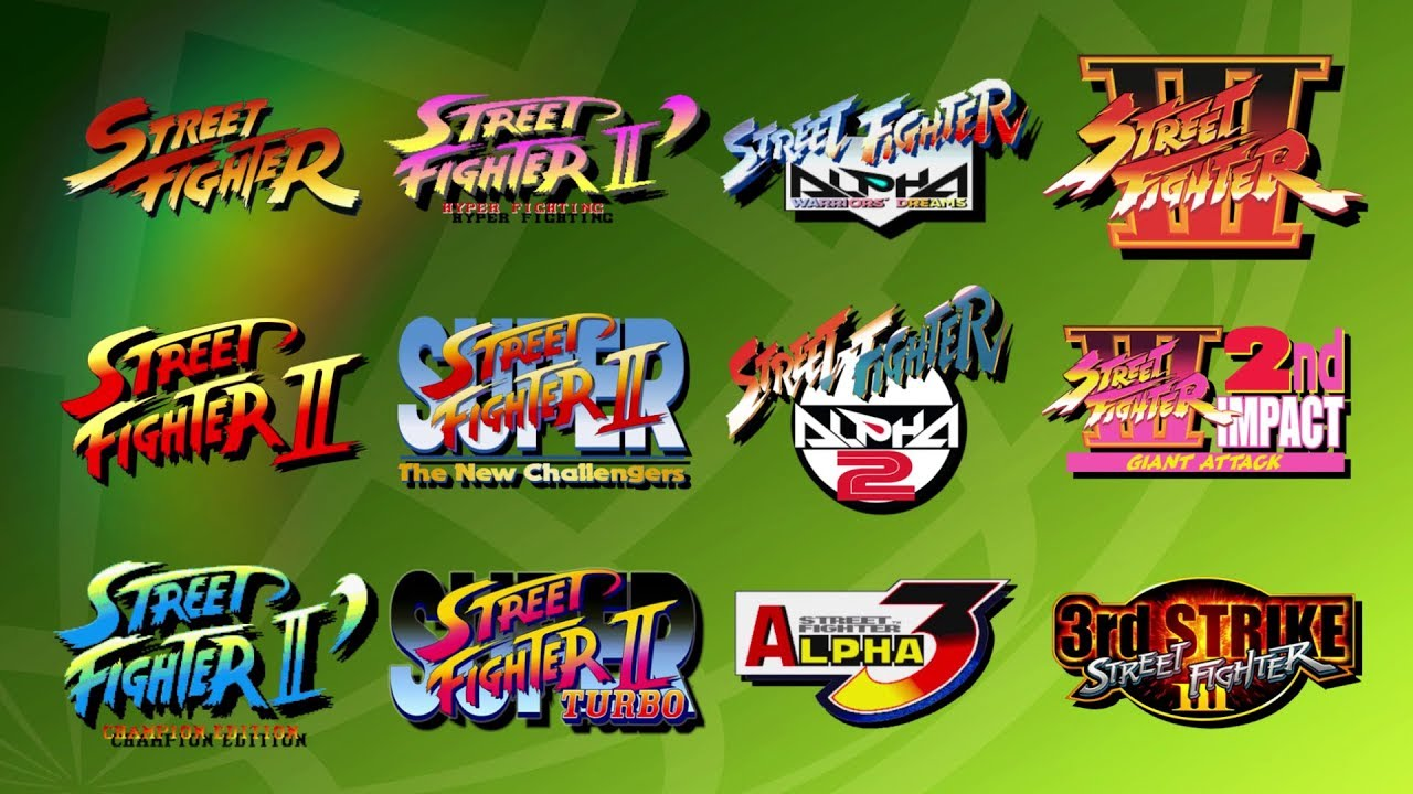 Street Fighter 30th Anniversary Collection Reveal Trailer Youtube