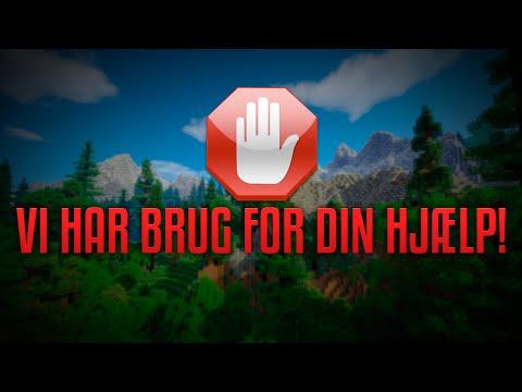 VI HAR BRUG FOR DIN HJÆLP!