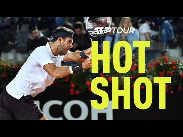 Hot Shot: 'How On Earth Does He Pull That Off?' Delpo's Dropper   Rome 2019