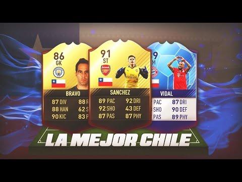 FIFA 17 | LA MEJOR PLANTILLA DE CHILE !! BEST POSSIBLE CHILE SQUAD !!