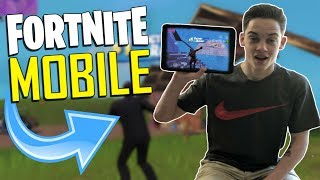 FAST MOBILE BUILDER on iOS / 245+ Wins / Fortnite Mobile + Tips & Tricks!