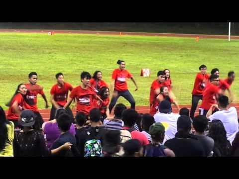 Simon Sanchez High School's Dance Team at Homecoming (2015)