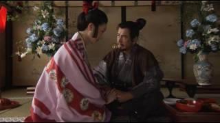 昼間っから吉野太夫と戯れる昌幸パッパ 手を取って引き寄せて耳元で「お...