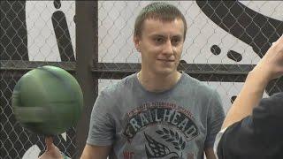 Sky-Star basketball freestyle ведущий Николай Соболев (Rakamakafo)