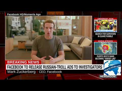 Face book to realese Russian  Troll ADS to Investigators
