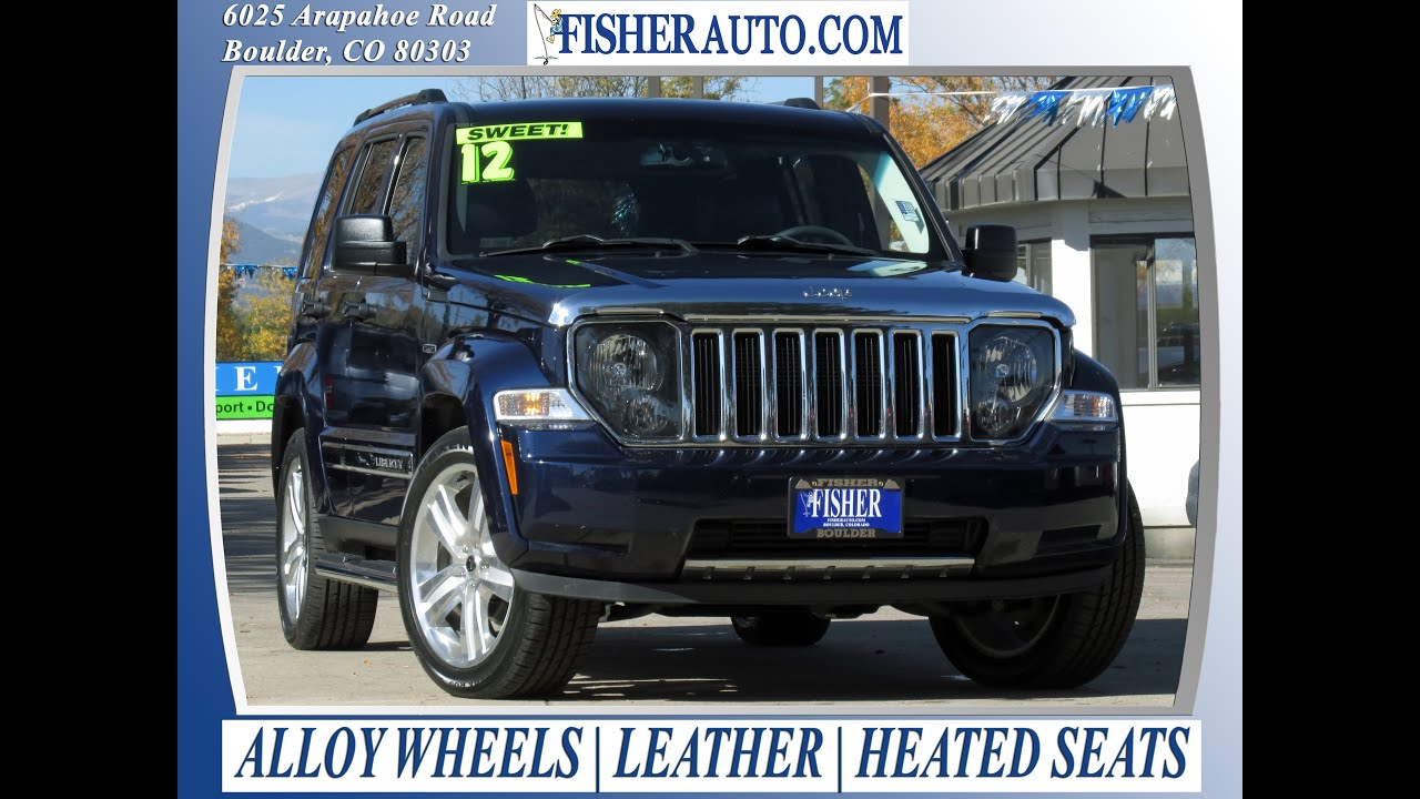 Used Cars | 2012 Jeep Liberty Limited Jet | Boulder Longmont Denver |  Fisher Auto | 162801A   YouTube