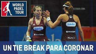 El tie break de la final femenina del Estrella Damm Alicante Open