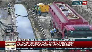 Trees uprooted for MRT-7 project 'not totally' killed - MMDA