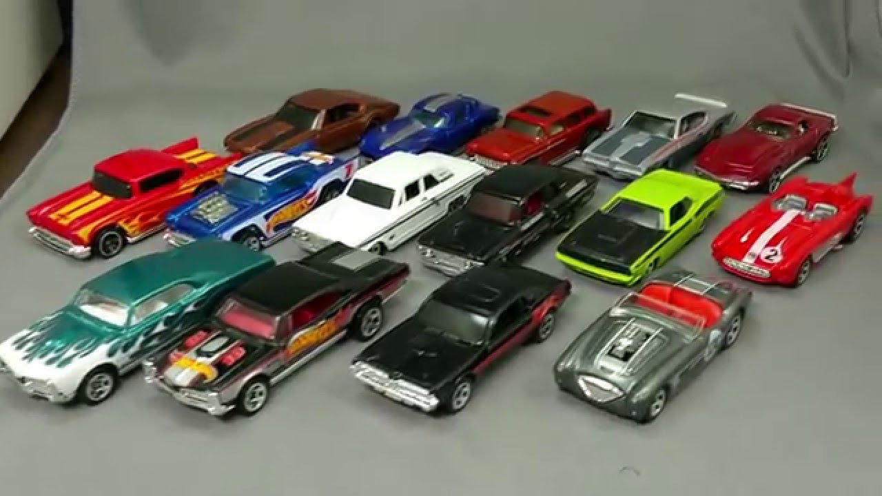 Hot Wheels Muscle Car Mania January 20th 2016 Part One Of Two