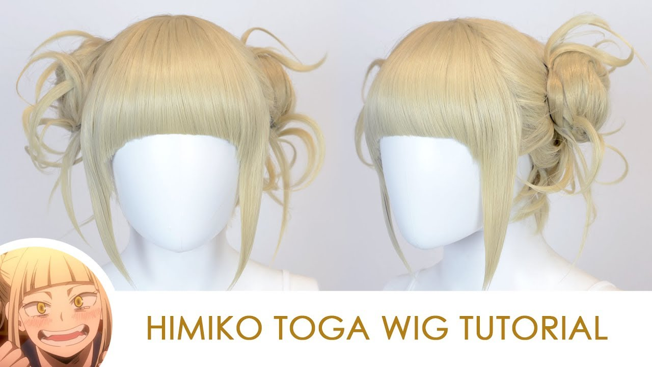 My Boku no Hero Academia Himiko Toga wig Cosplay Wig Prop