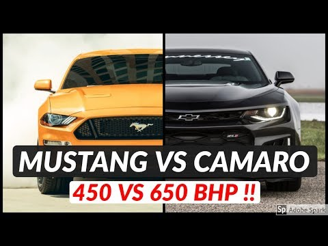Chevrolet Camaro ZL1 vs Ford Mustang GT | Top Speed and Acceleration Comparison