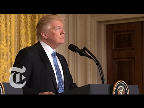 President Donald Trump Holds Press Conference | The New York Times