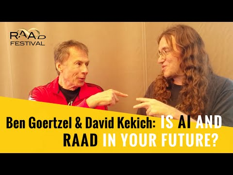 The Future of AI and Immortality, with Ben Goertzel and David Kekich.