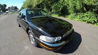 4K Review for 1998 Buick Park Avenue Ultra Supercharged Black Virtual Test-Drive & Walk-around