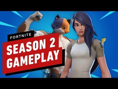 Fortnite Chapter 2: Season 2 Top Secret Gameplay
