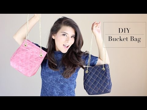 DIY - BUCKET BAG | Fashion Riot
