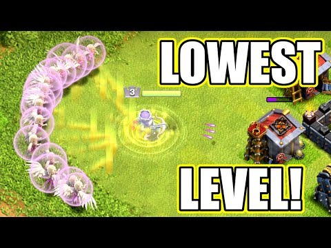 WORLDS LOWEST LEVEL IMMORTAL HERO!! BUT DOES IT WORK!? - Clash Of Clans