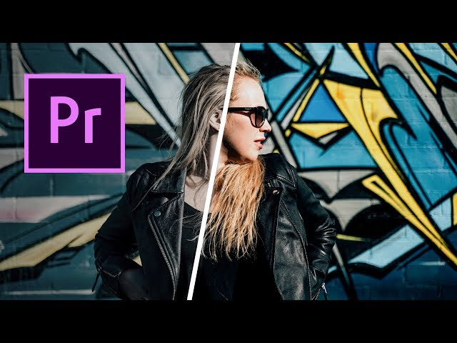 Easy Color Grading with Premiere Pro (Quick Tutorial & FREE Presets)