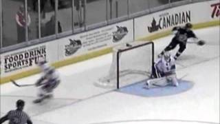 Bryan Lerg 5-on-3 Shorthanded Goal - Oct 13, 2011