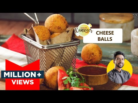 Teatime Spl Crispy Cheese Balls | चीज़ बॉल्ज़ | Easy Cheese balls recipe | Chef Ranveer Brar